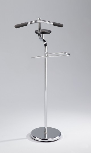 Metal Clothes Valet Stand