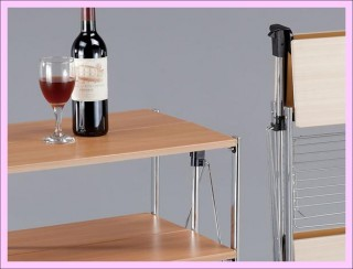 Foldable Serving Trolley