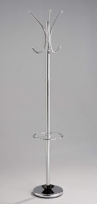 Clothes Coat Hanger Rack Stand with 6 Hanging Function & Umbrella Rack