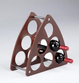 9 Holes Wine Storage Rack
