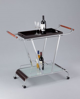 Wood Wine Trolley Cart