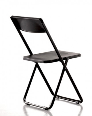 Metal Legs Plastic Folding Chair - SC072 | , in black, red, white, orange, blue colors