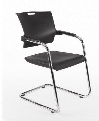 Metal Legs Plastic Stacking Chair