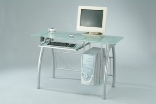 Frosted Glass Computer Desk - SP001 |