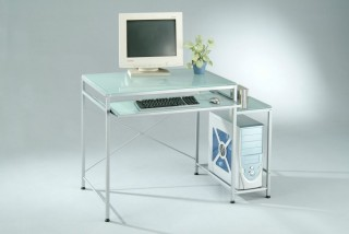 Frosted Glass Computer Desk - SP002 |
