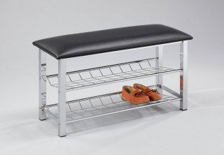 2-Tier Shoes Rack Bench