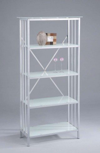 5-Tier Living Room Furniture Glass Storage Shelf - SS002 |
