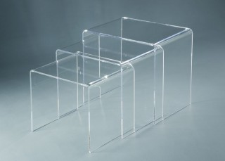 Living Room Furniture Acrylic Nesting Table