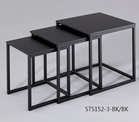 Living Room Furniture 3 pc Nesting Table