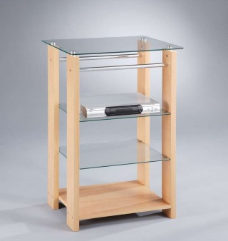 4-Tier Stereo Stand