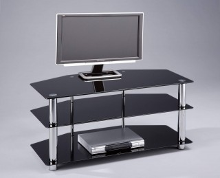 3-Tier TV Stand for Flat Panel TV up to 32-Inch - STV043B |