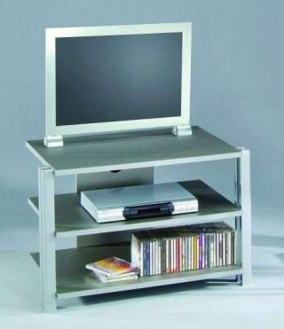 3-Tier Wood TV Stand