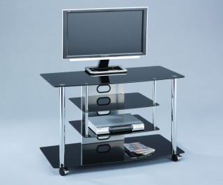 4-Tier TV Stand for Flat Panel TV up to 32-Inch